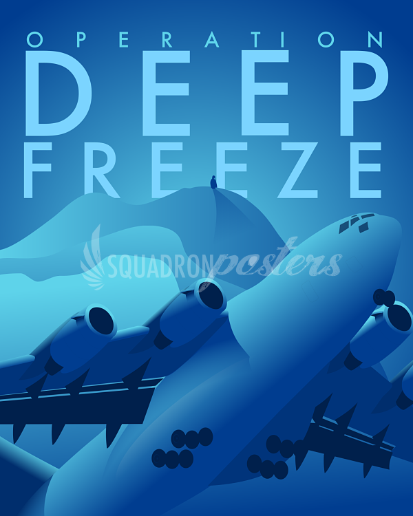 Operation Deep Freeze C17 poster in 2020 Deep, Air