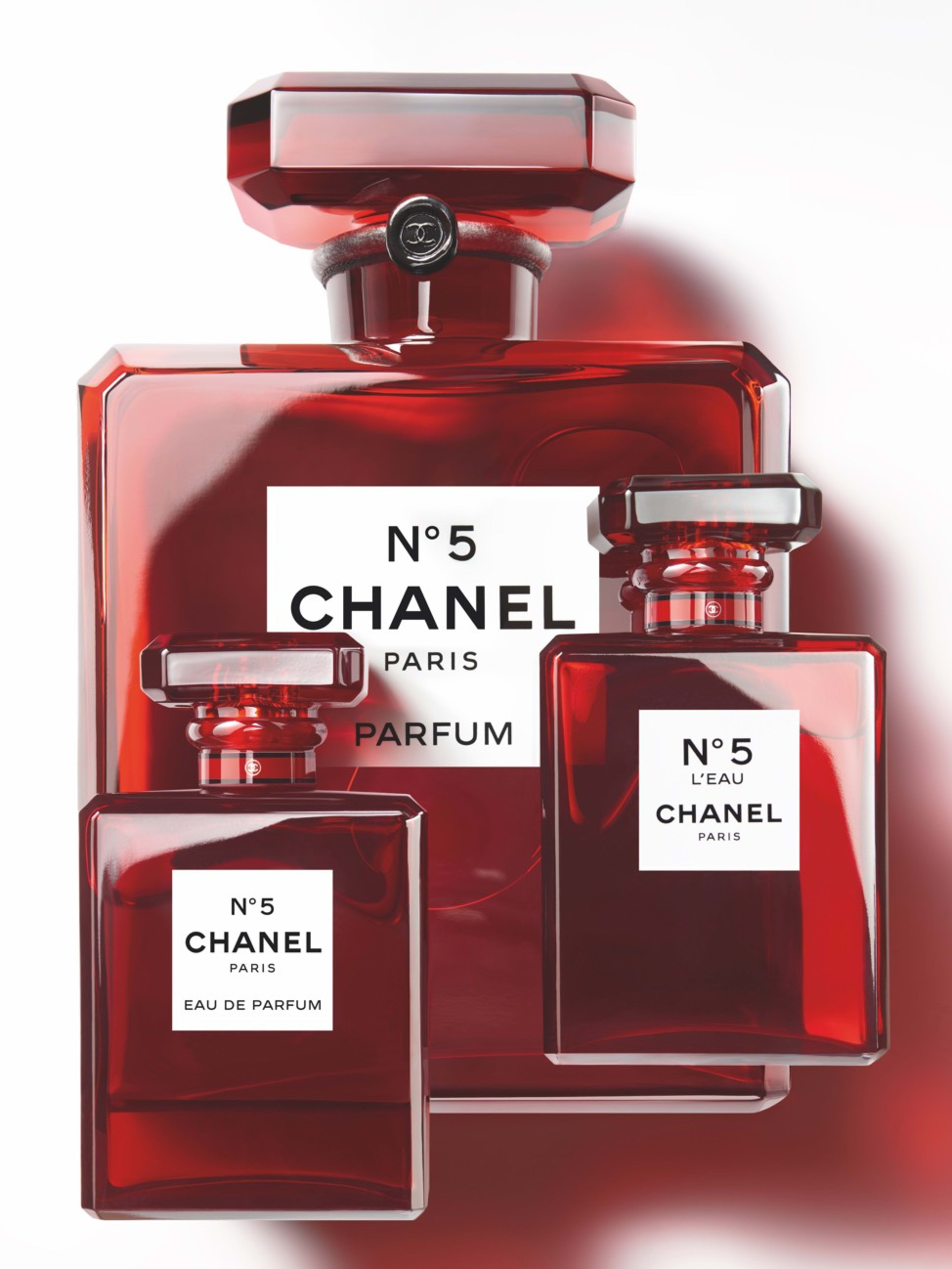 N5 Limited Edition Grand Extrait Parfum In 2019 Color Red