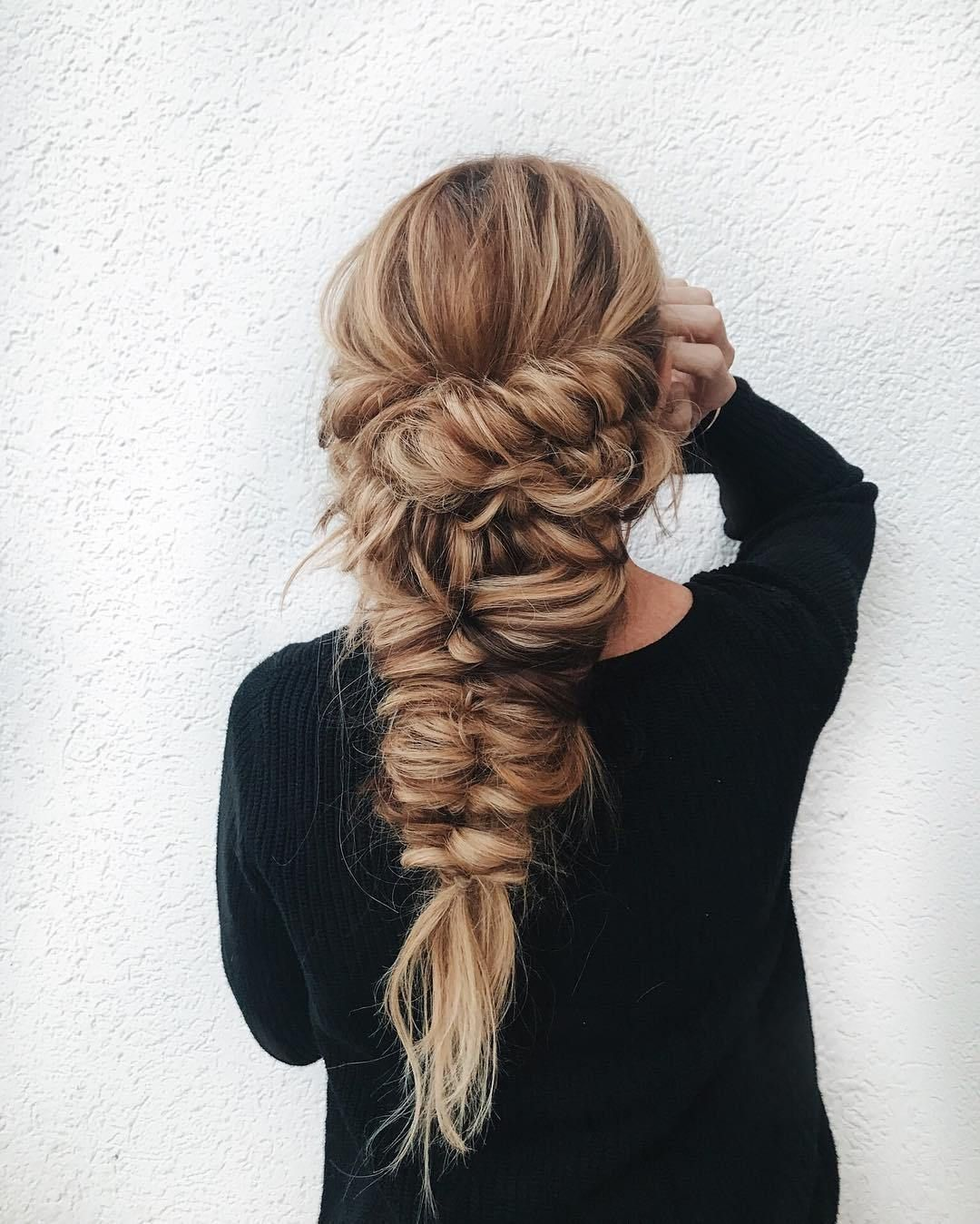49 Boho Braid Hairstyles to Try - Boho braid hairstyle #braids #hairstyles #bohohairstyles