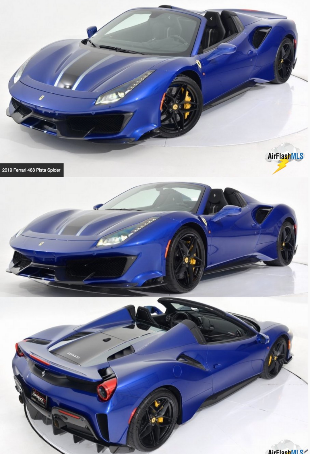 2019 Ferrari 488 Pista Spider In 2020 Ferrari 488 Ferrari Ferrari For Sale