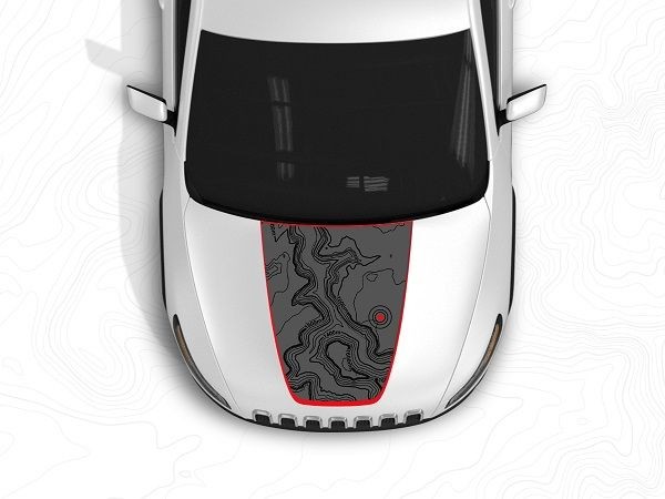 Jeep And 3m Joining To Create Those Hood Decals You Love Jeep