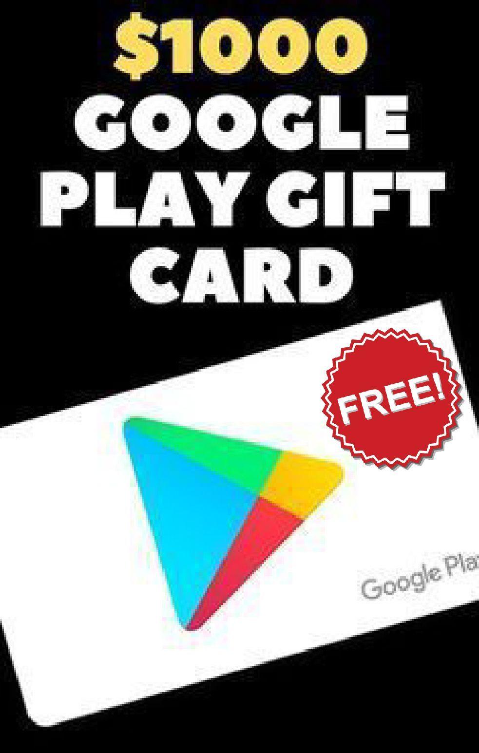Pin on Free Google Play Gift Card Codes