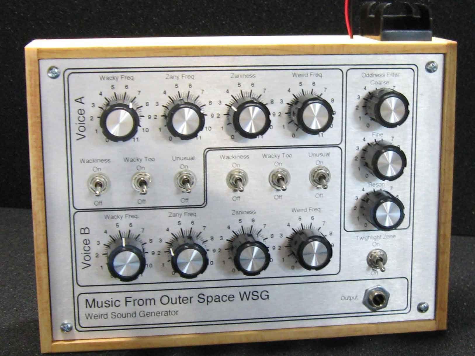 Diy Mfos Weird Sound Generator Yeap It Generates Sounds Electro Plate Circuitry Dragon Circuitselectro