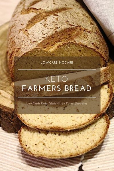 The best Keto Bread in the whole world, which not only looks real but also tastes and smells like a real loaf of bread. The Number 1 Keto Bread has been born. You bake it once and will never ever change for something else. #ketobread #lowcarbbread #oatfiber #potatobread fiberbread #keto #lowcarb #healthy #glutenfree #grainfree #diabeticfriendly