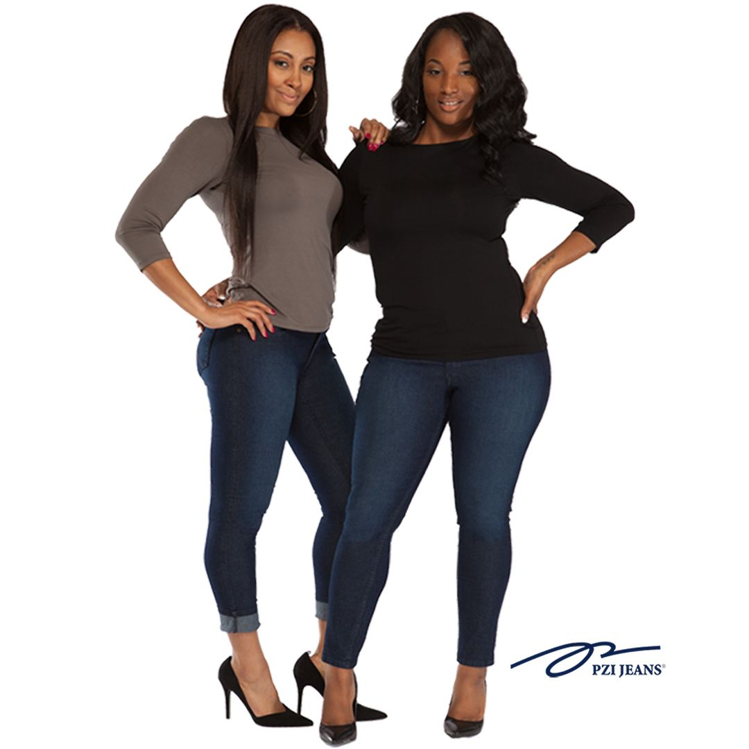 #1 The Curve Factor!! Aubrey Ankle Skinny available in sizes 4-18; regular-extra long inseams.  (