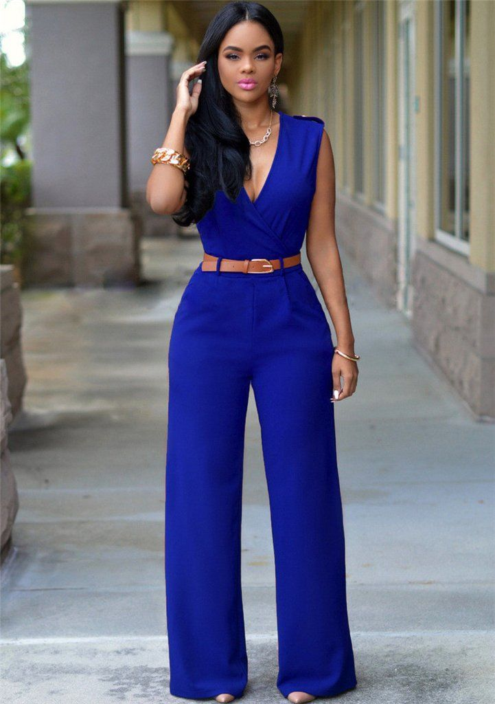 c87a367a5185 This jumpsuits with v-neck