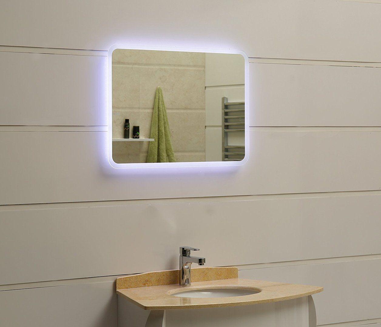 Led Lichtspiegel Granada Badezimmer Badspiegel Inneneinrichtung