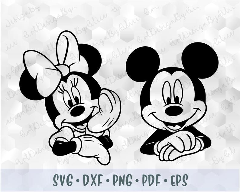 Svg Png Mickey Minnie Mouse Head Ears Hands Cuttable File Etsy Mickey Mouse Drawings Minnie Mouse Clipart Mickey Mouse Stencil
