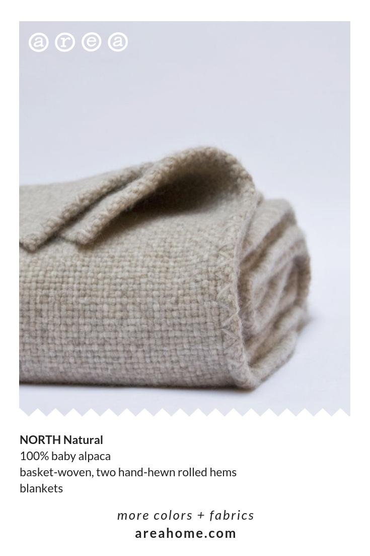 North Alpaca Blanket Woven Blanket Basket Weaving Alpaca Blanket