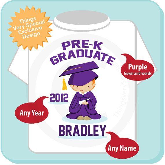 Personalized Pre-Kindergarten Pre-K Graduate by ThingsVerySpecial