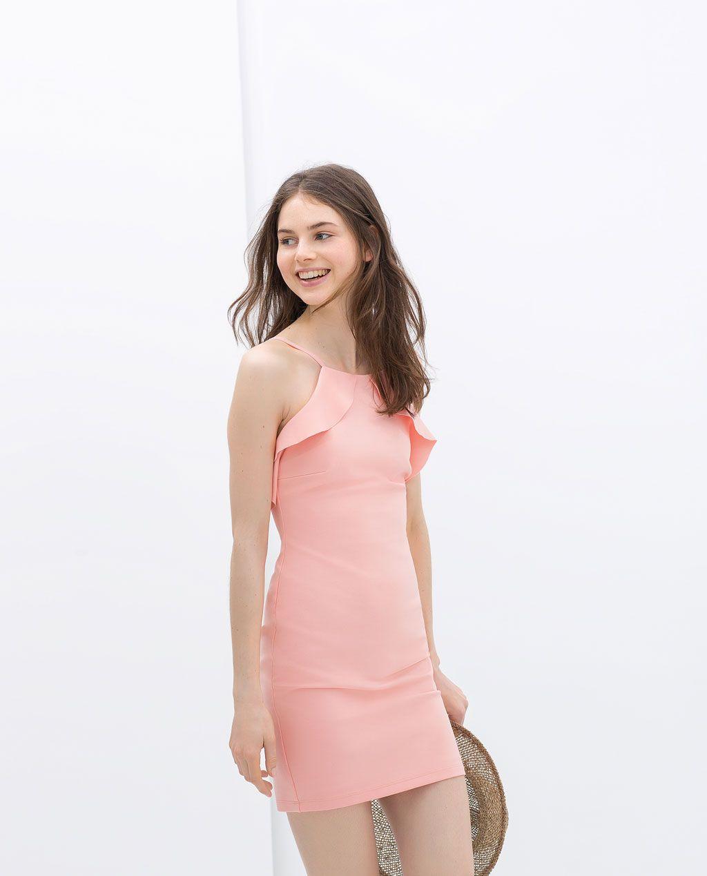 ZARA - ÚLTIMA SEMANA - VESTIDO TUBO | Outfits | Pinterest | Vestido ...