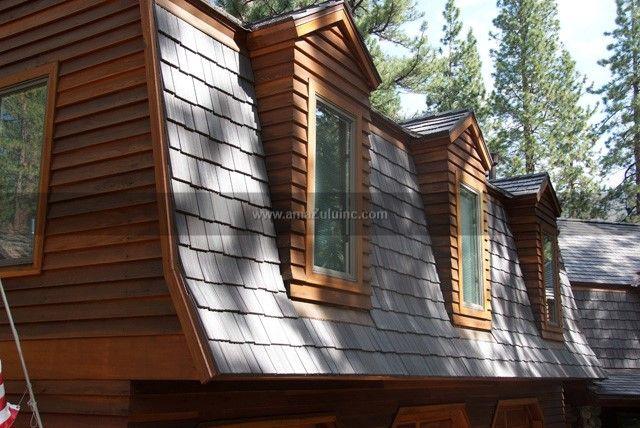 Best Faux Cedar Shake Tiles From Amazulu Inc Mansard Roof 640 x 480