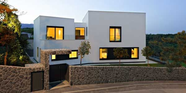 Croatian Residential Project With A Stylish Appeal Freshome Com Minimalist House Design House Design Modern House Design