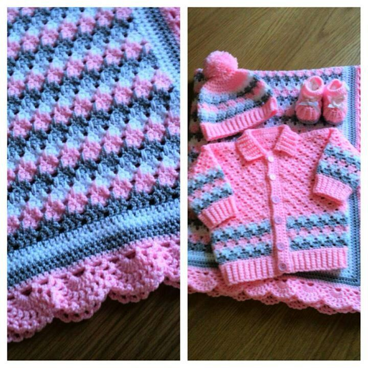 Larksfoot stitch baby set made and designed my me