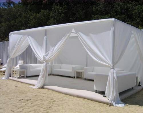 10 x 20 South Beach Cabana (Stuart Rental)