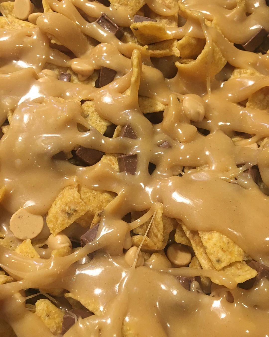 Frito fudge. Had to try it🥳 @fritolay
