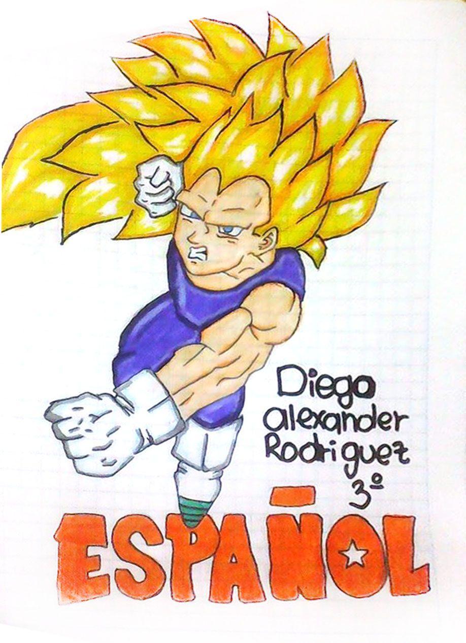 Caratulas De Espanol Dibujo De Conejitos Cuadernos Creativos Libretas De Dibujo