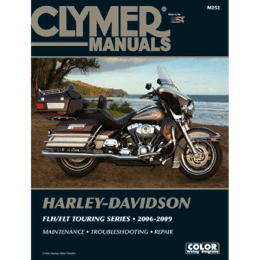 Clymer Harley-Davidson FLH-FLT Touring Series (2006-2009)