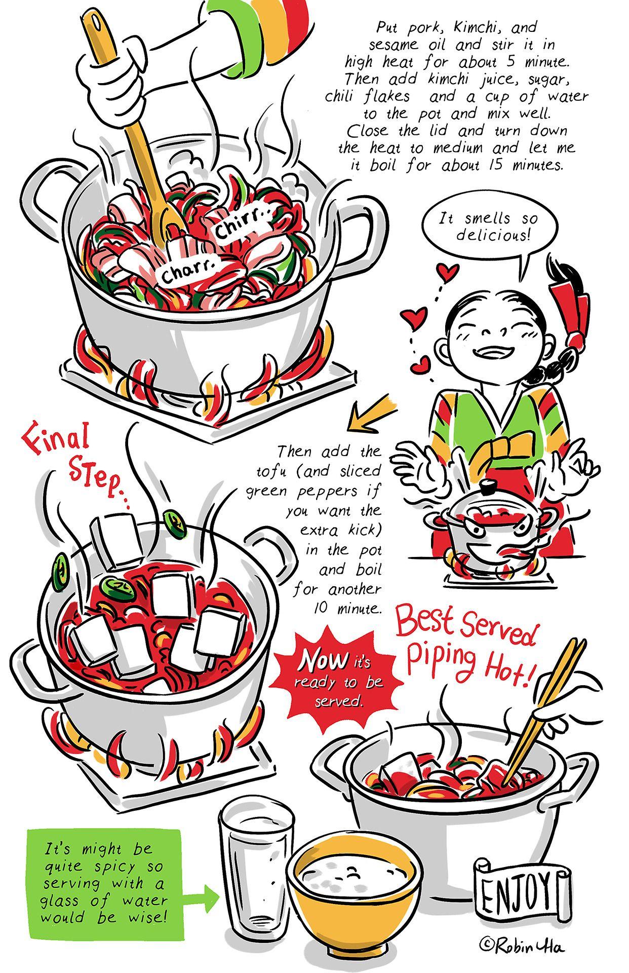 Banchan korean recipe comics snack pinterest korean banchan korean recipe comics forumfinder Gallery