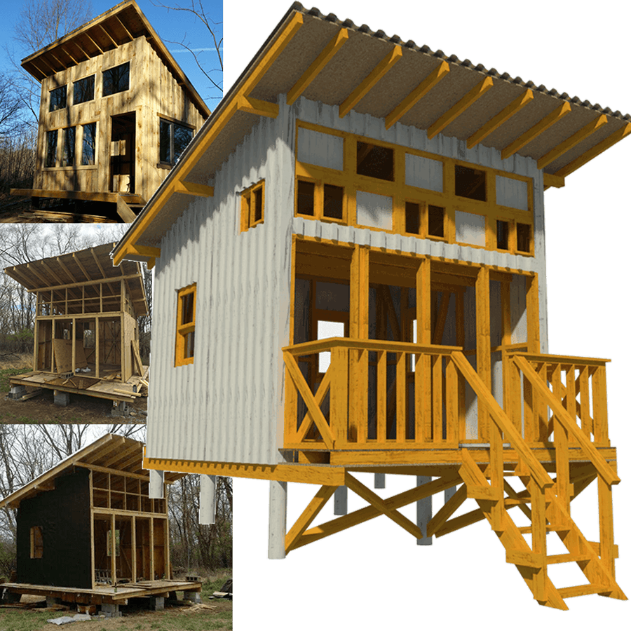 Cart Small Wooden House Plans Micro Homes Floor Plans Cabin Plans Wooden House Plans A Frame Cabin Plans Small Cabin Plans