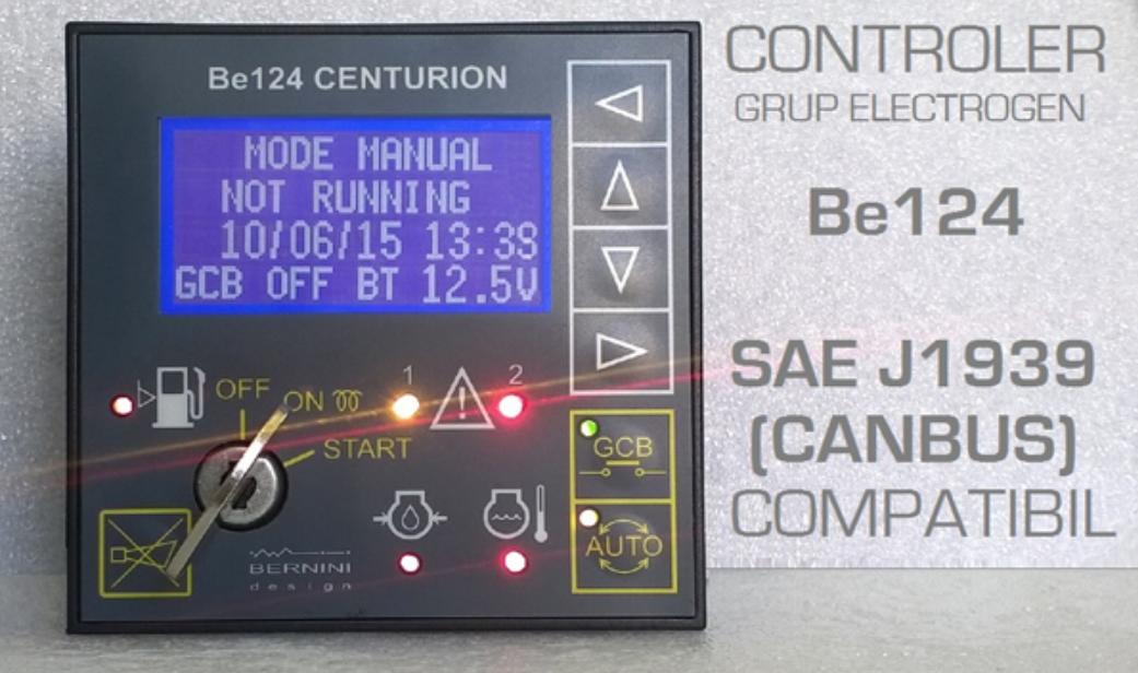 B124 Bernini Controller Generation Control Control Unit