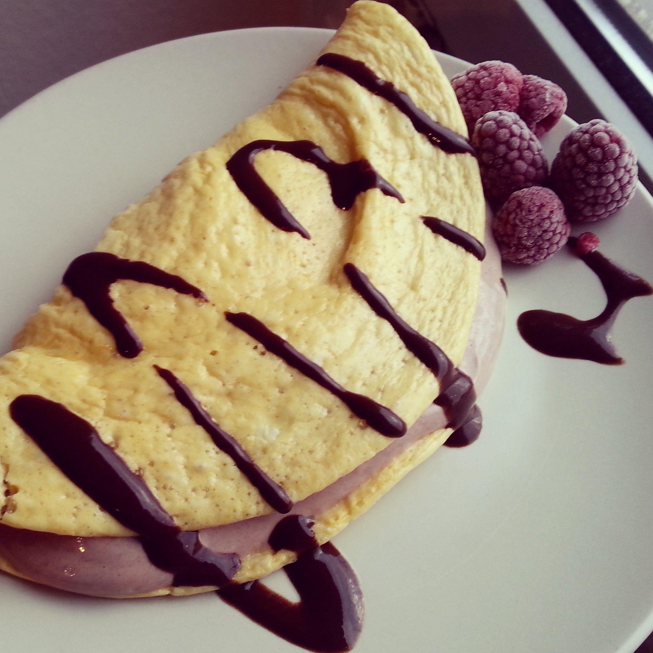 Mikrowellen Protein Pancake