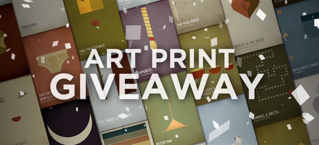 Art Print Giveaway And Entering To Win Is A Sinch