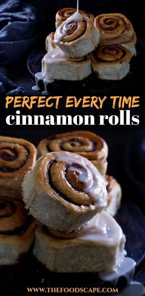 Cinnamon Rolls Perfect Every Time Cinnamon Rolls recipe. Fluffy Cinnamon Rolls recipe by Paula Deen of the Food Network. Pillowy, soft Cinnamon Rolls. Breakfast Cinnamon Rolls recipe for Christmas Morning. Christmas Morning Cinnamon Rolls recipe. Moody Food Photography.