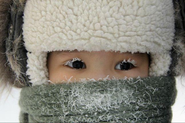 Tanto frio...