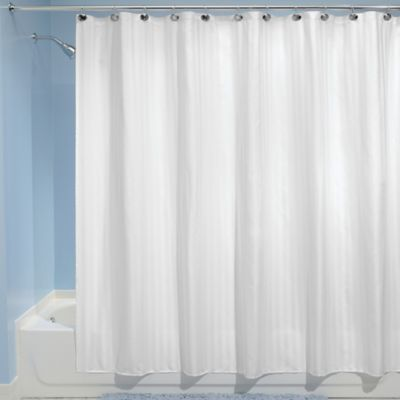 Idesign Satin Stripe Shower Curtain Liner Products Striped