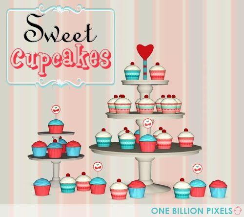 One Billion Pixels: Edible Cupcakes