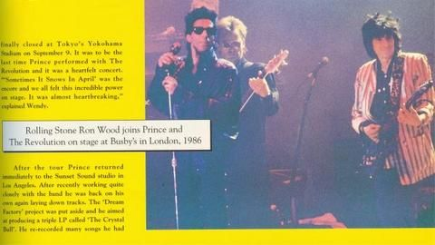 Ronnie, Sting & Prince paying Miss you