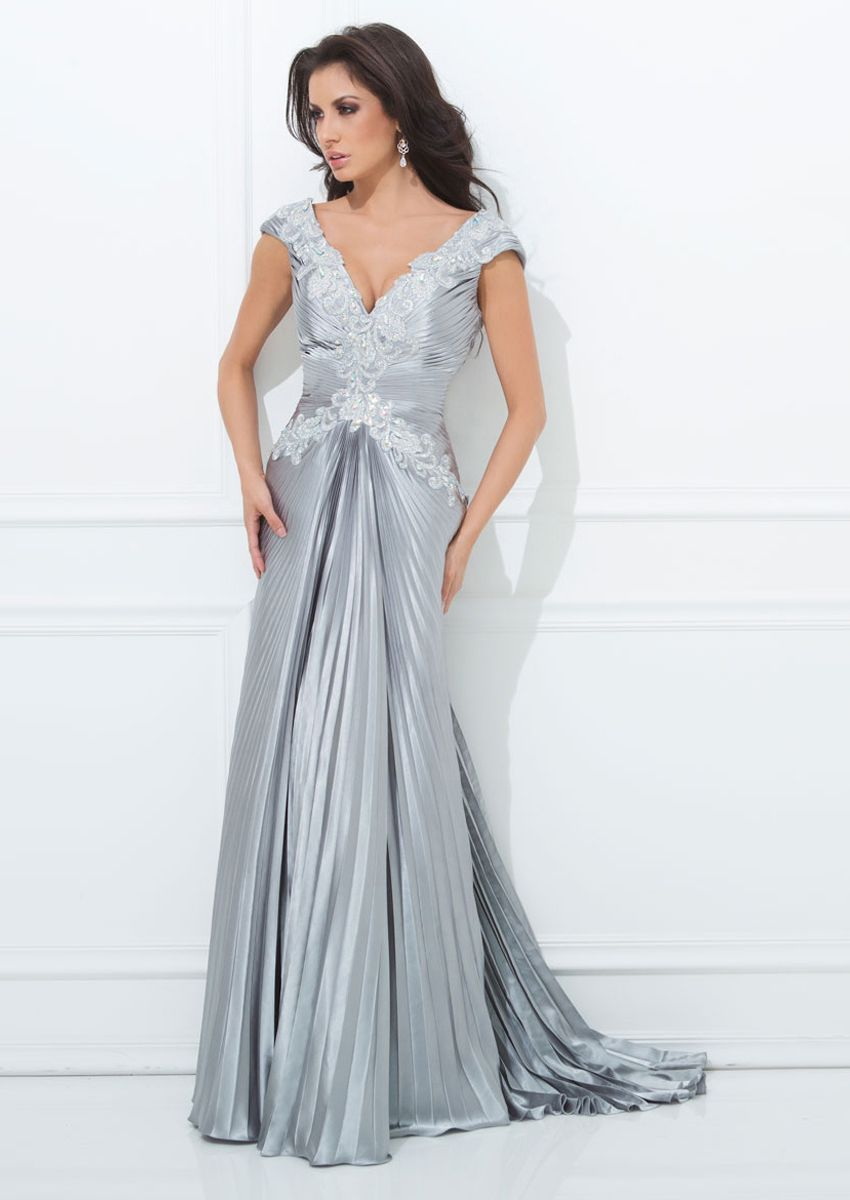 Retro Sweetheart Champange(Silver) Floor Length Evening Dress with ...