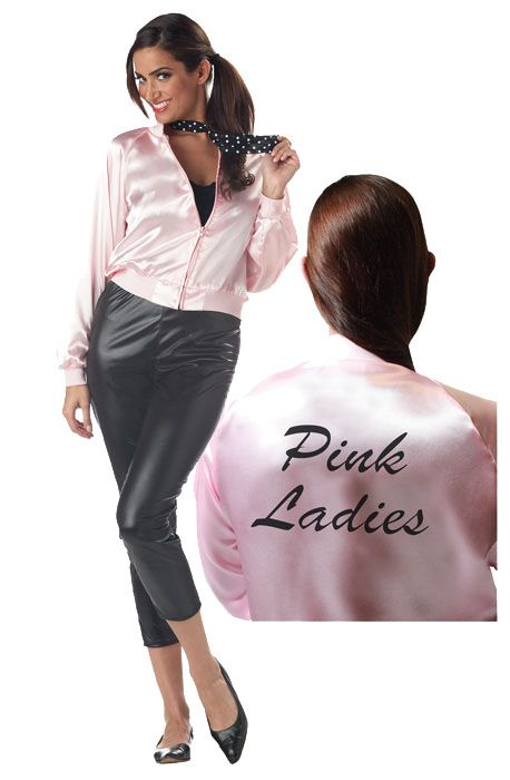 Pink Ladies Jacket Fancy Dress Costumes In Dubai Jackets Pink