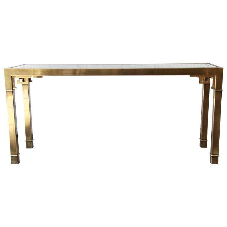 Console Table By Mastercraft From A Unique Collection Of Antique And Modern Tables At Https Www 1stdibs Furniture