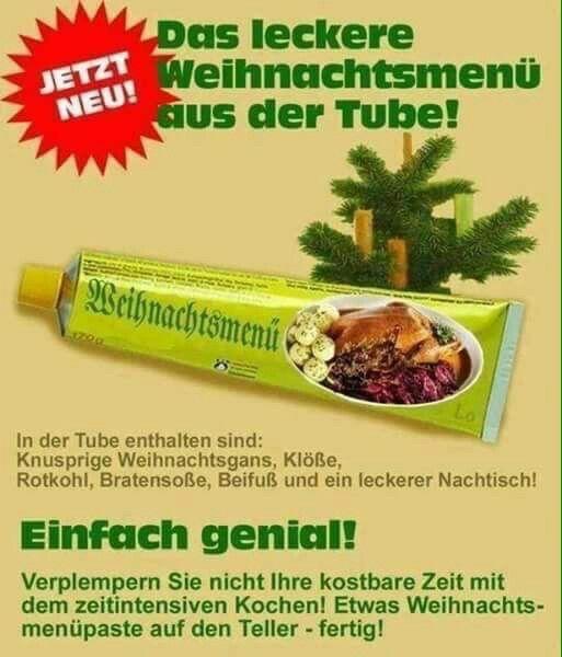 Lustiges Weihnachtsessen.Weihnachtsmenü Witzige Bilder Sprüche Silvester Lustig Leckeres