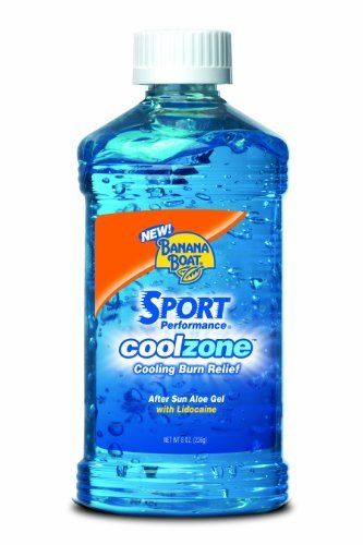 Banana Boat Cool Zone After Sun Cooling Gel 8 Ounce Pack Of 2 By Banana Boat 11 64 Soothes Dry Sunburned Skin Formulated Banana Boats After Sun Aloe Gel