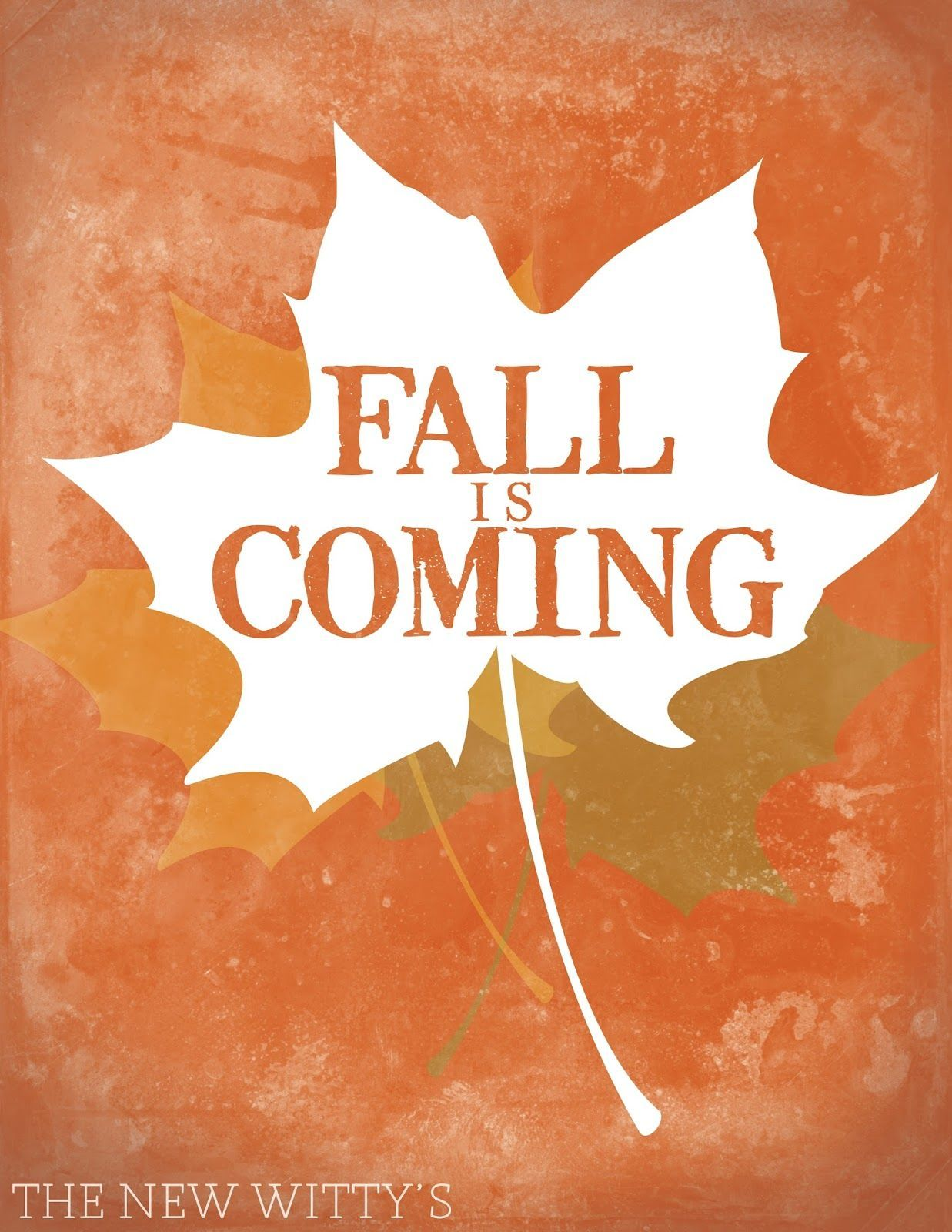 Fall Is ing autumn fall autumn pictures autumn quotes