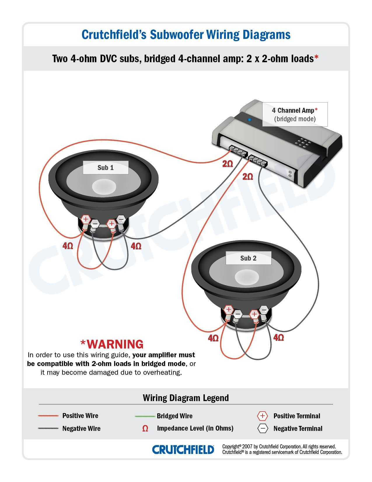 Subwoofer Wiring Diagram 8 Ohm Schematic And Wiring Diagram In 2020 Subwoofer Wiring Car Audio Audio Design
