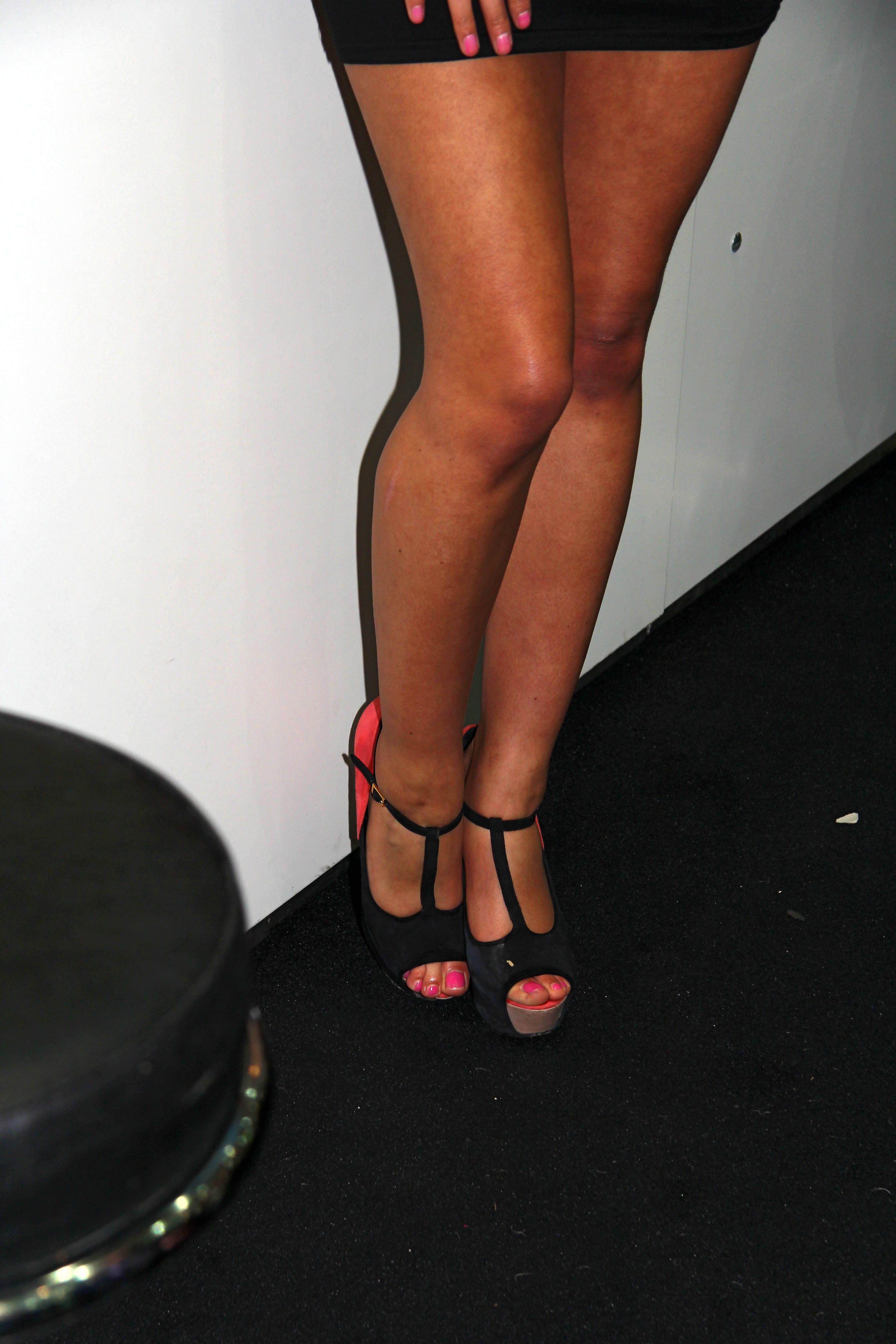 Micaela Schäfer Füße