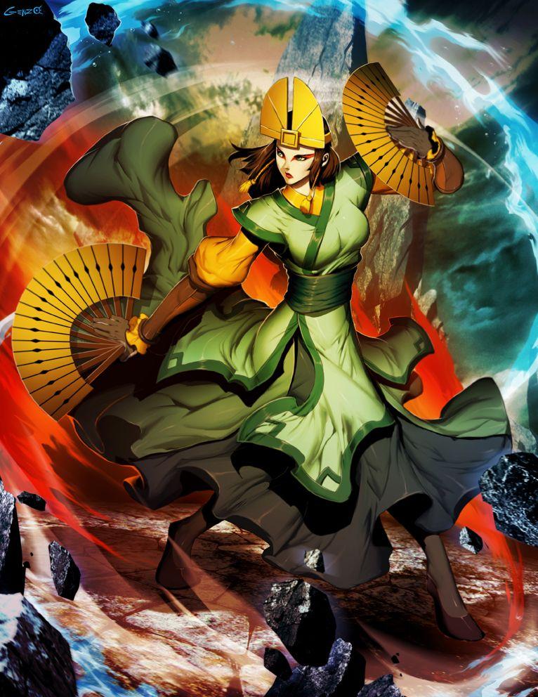 Avatar Kyoshi By Genzoman Deviantart Com On Deviantart With
