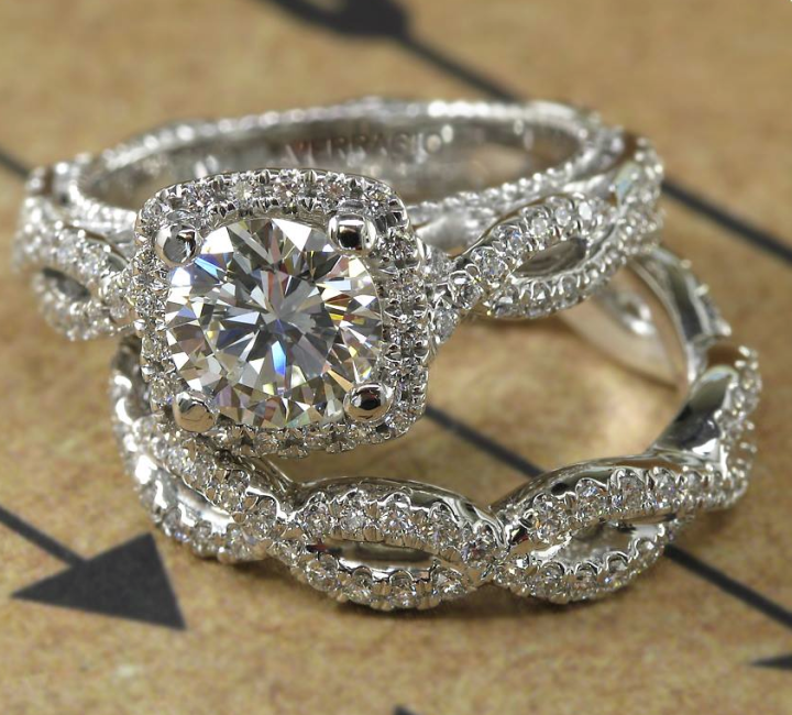 36 Remarkable Engagement Rings Beautiful Halo and Cushion halo