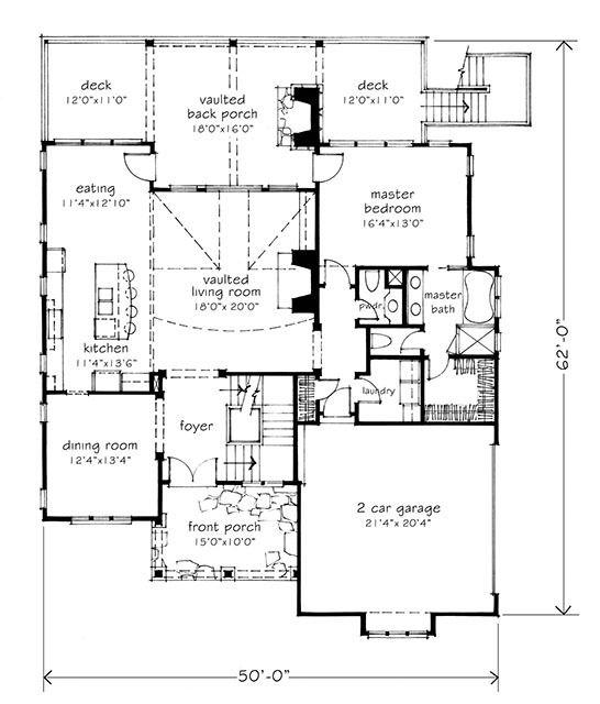mitch ginn braemer lake craftsman style house plans