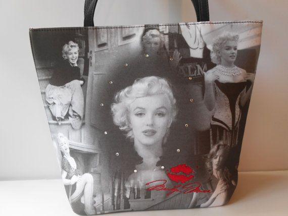 Marilyn Monroe Purse Marilyn Tote Bag Glamorous   Tote bag, Handbag ... f1cf5a12b3