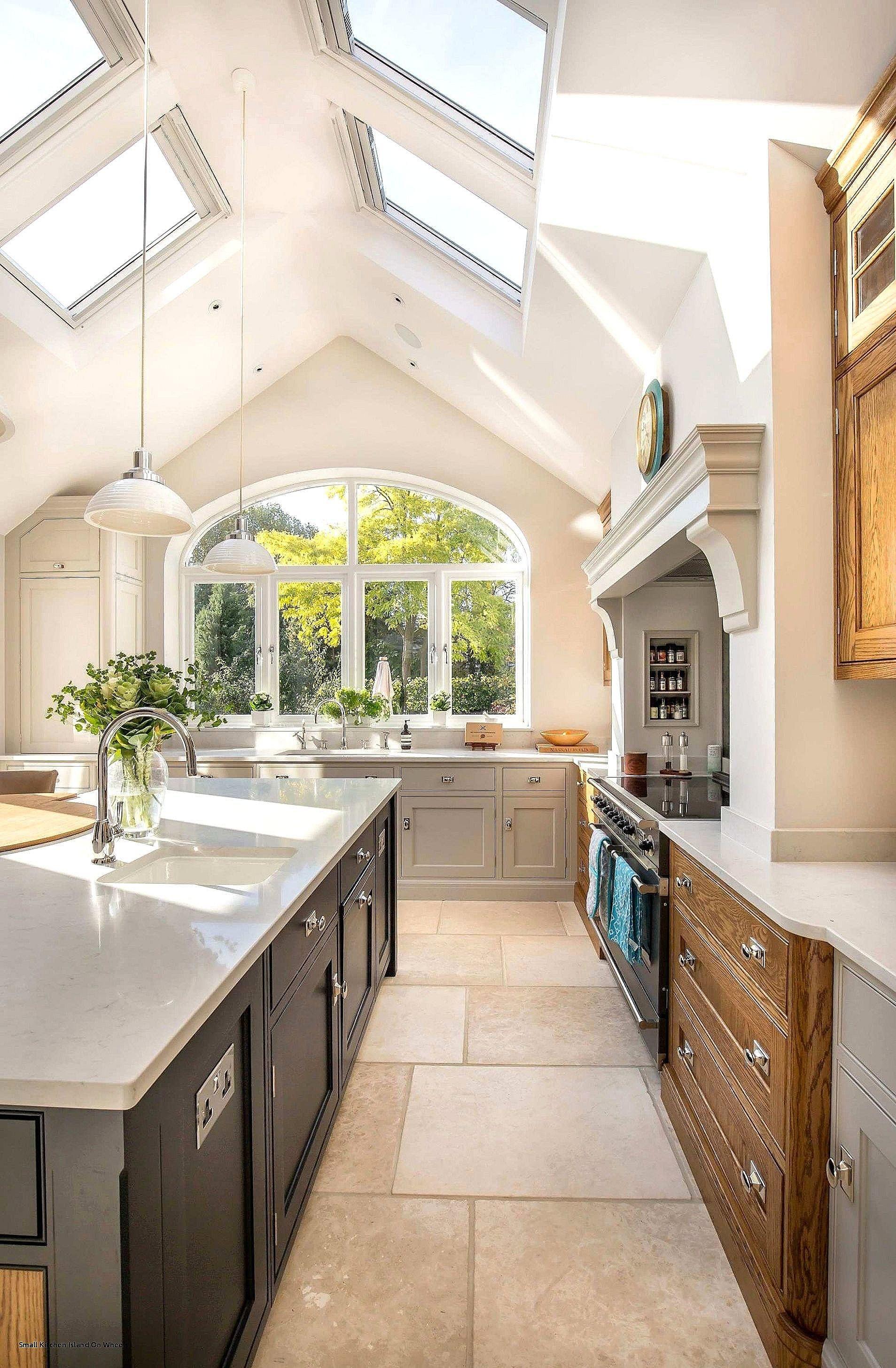 Fresh Rustic Kitchen island Ideas Skylight kitchen