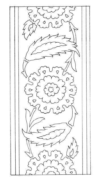 Ottoman Paterns Amp Motifs Sanat Desen Nakış Desenleri