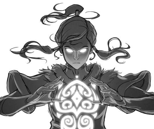 Korra, the Avatar who defeated Vaatu