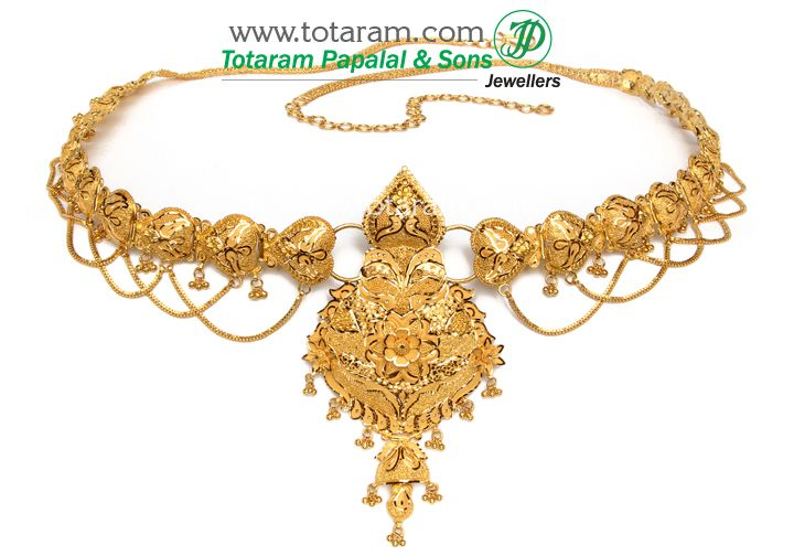 22k gold vaddanam Jewelry 13 Pinterest Indian gold jewelry