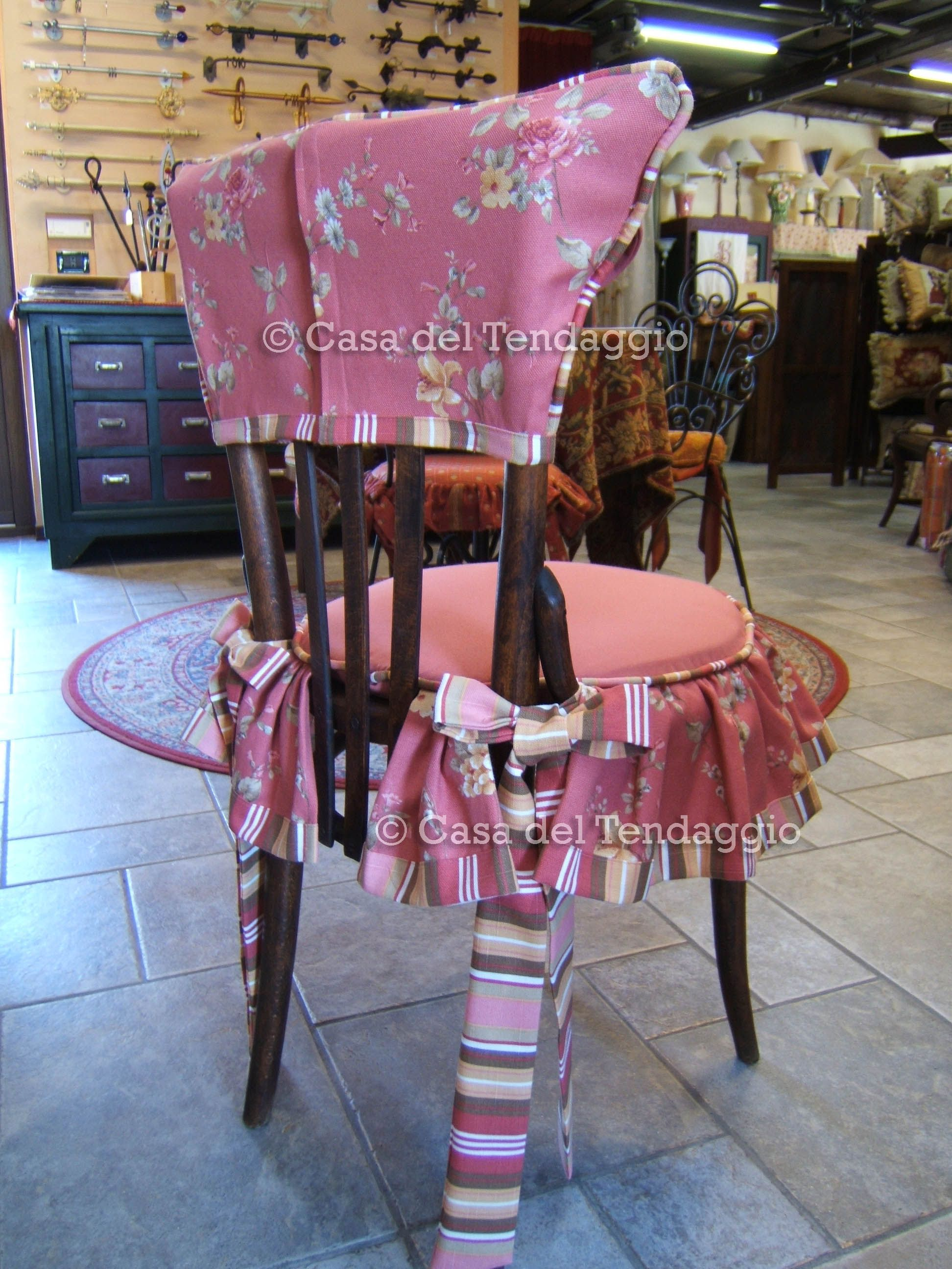 cuscini country per sedie rotonde cuscini cuscini