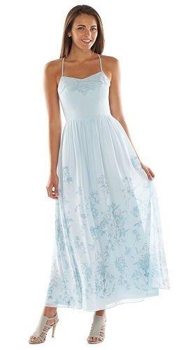 1b8f58fd58bd Disney s Cinderella a Collection by LC Lauren Conrad Floral Maxi Dress -  Women s